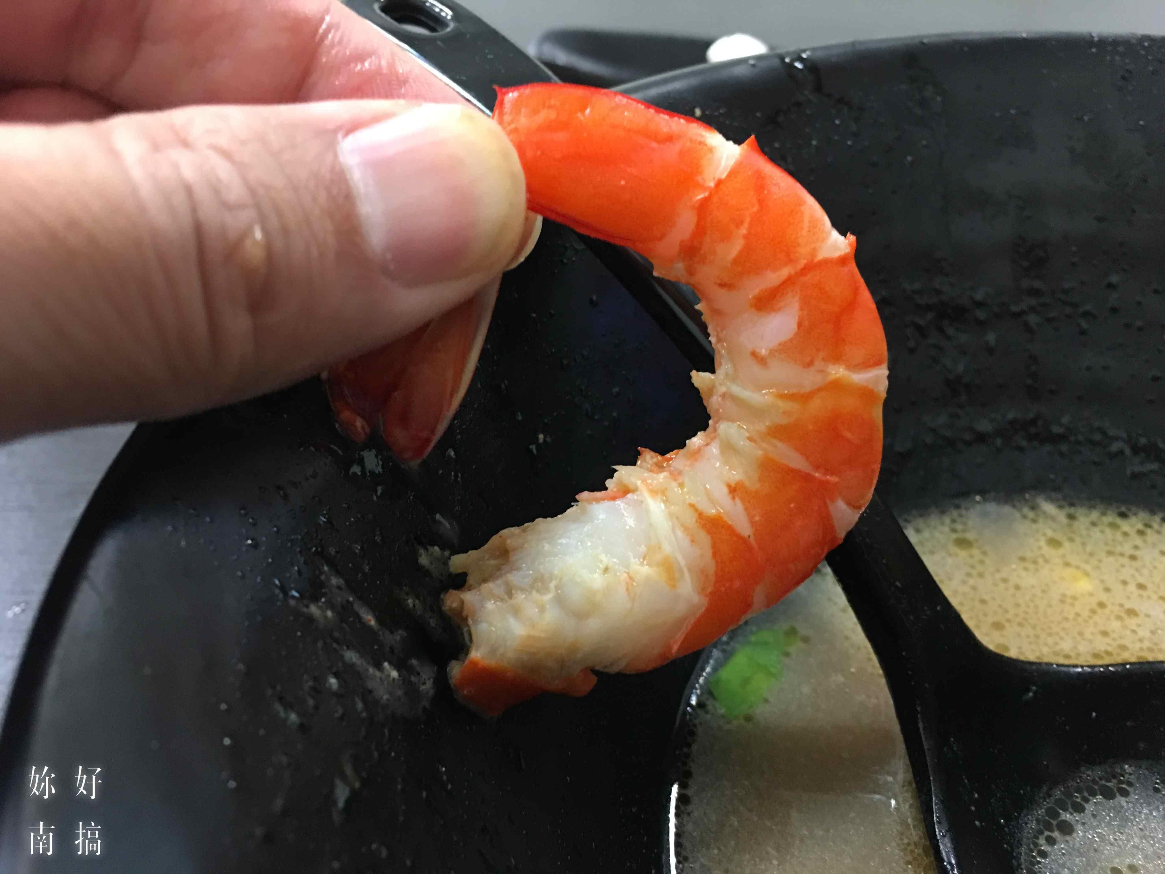鵬煮麵-豐盛食材明蝦02|妳好南搞