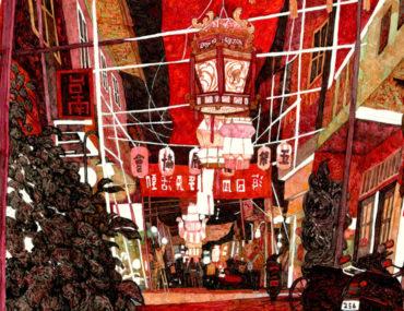 神農街的元宵節-00-妳好南搞-1/2藝術蝦 ARTSHRIMP