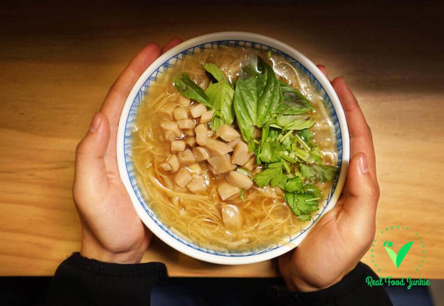 老爹蔬食   隱身安南區用心蔬食料理,別有風味日系蔬食小店!