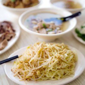 阿太豆菜麵 | 簡單不平凡的銅板美食,吃過令人難以忘懷的美味!