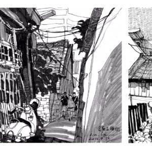 正興街 |漫步在牛磨後街的寧靜巷弄,追隨時代風貌的漸變!